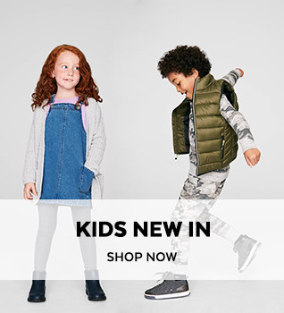 Kids New In. Shop Now.